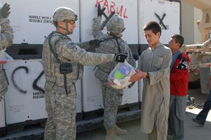 Troops Deliver Donations from Home to Kabul Orphanage